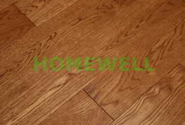 solid red oak flooring