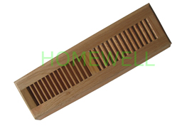 solid wood baseboard diffuser