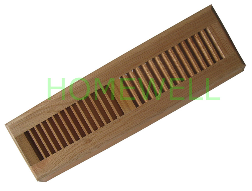 Solid Wood Baseboard Diffuser Comes In Many Style