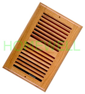 Ceiling Register Are Fixed On Ceiling With Two Screw Holes