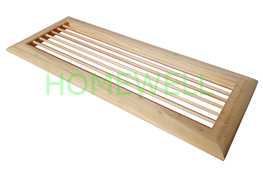 wood air return grille