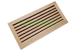 wood air return vent