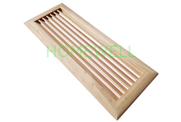 Wood air return vents