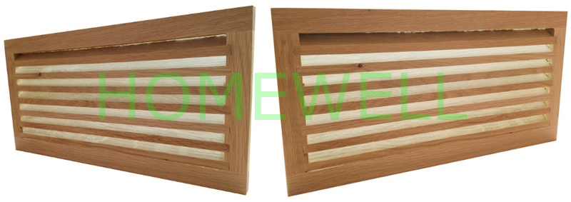 Wood Cold Air Return Vents Are Recommended Lower Position
