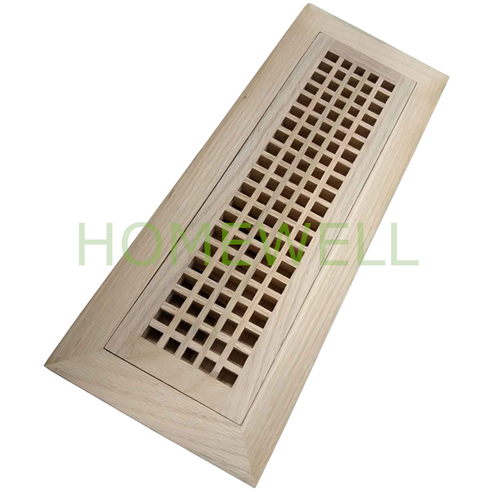Flush Mount Egg Crate Vent Wood Vent Covers Homewell