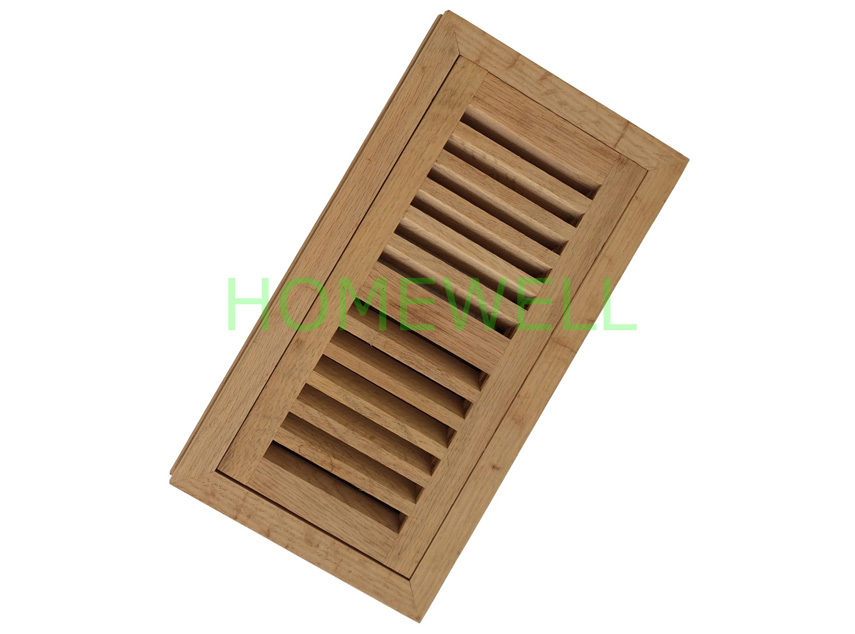 Flush Mount Floor Register Sits Flush With 3 4 Quot 1 2 Quot 5 8