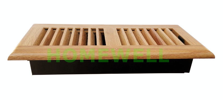 Wooden Floor Register Registers 3x10 Vent 4x12 Natural