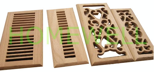 wood vent covers