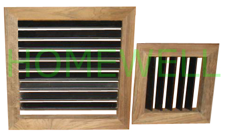 Wall Mounted Vents Are Mounted On Wall For Air Ventilation